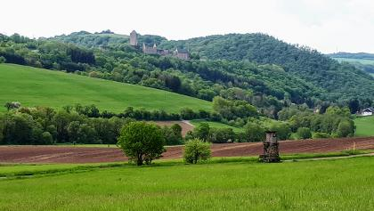 Blick zurück auf Burg Lichtenberg, 24. Mai 2020 10:30:58