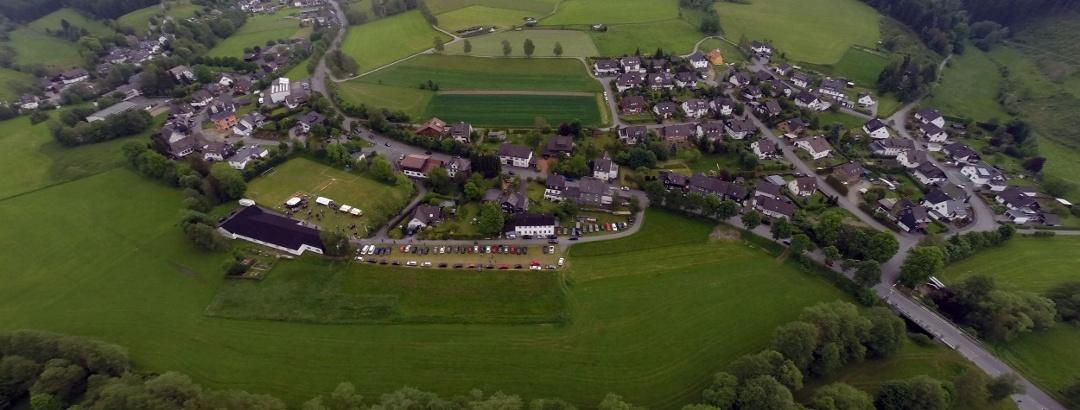 Luftaufnahme Schüllar-Wemlighausen