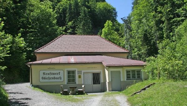Gießenbachklamm Kiefersfelden Kraftwerk