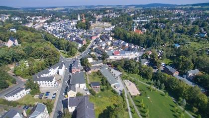 Hofaupark von oben