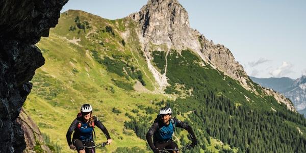 Bike zur Tilisunaalpe
