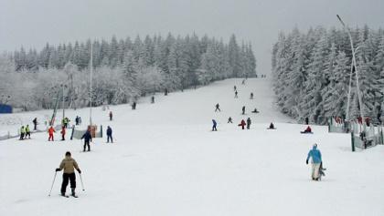 Panorama Skigebiet Altenberg / Geising