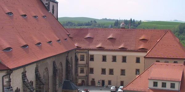 Stadtkirche mit Schloß / MiBERZ Ausstellung