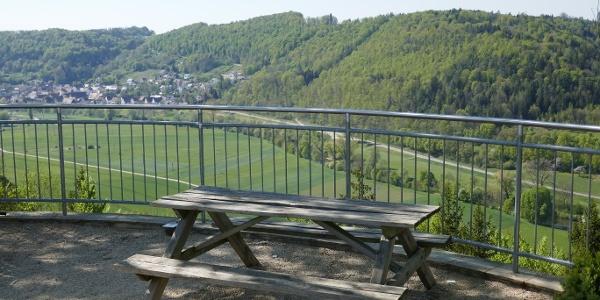 Ausblick aufs Neckartal