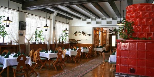 Gaststätte im Berghotel Greifensteine