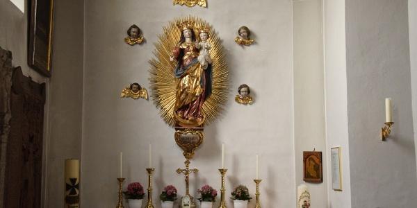 Frauenkapelle in der Kirche Stubenberg