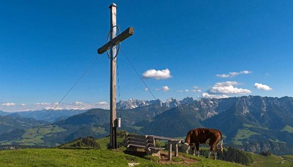 Wandberg - Aussicht Kaisergebirge