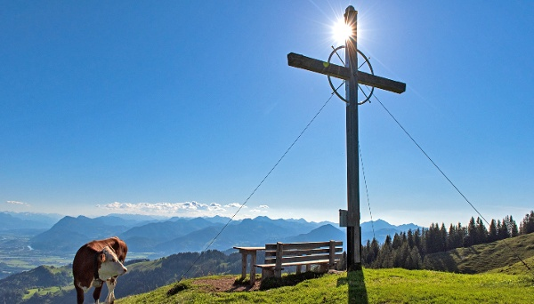 Wandberg - Aussicht in Inntal