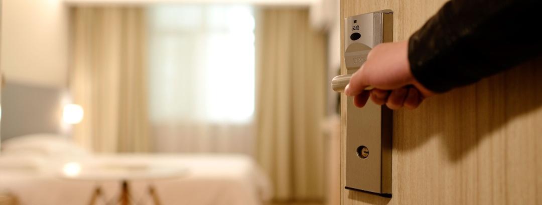 Hotelzimmertür