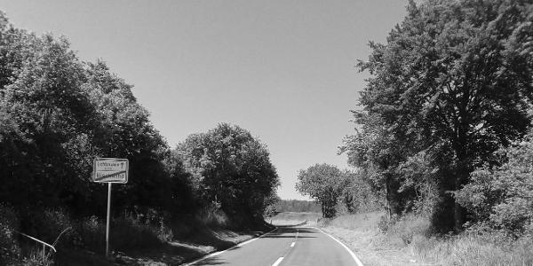 Anstieg nach Lichtenstein