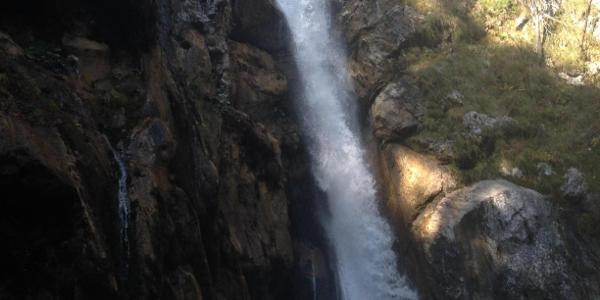 Wasserfall in der Tscheppaschlucht