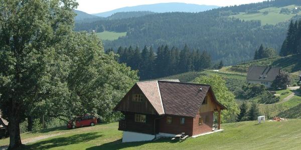 Aussenaufnahme Ferienhaus Sulmegg