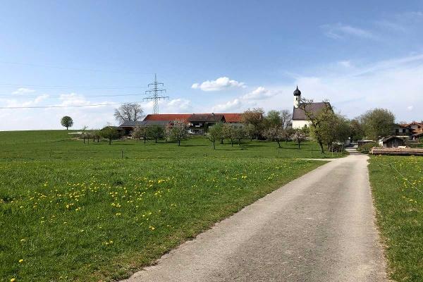 SUR Radlweg bei Gögging
