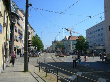 Tegernseer Platz Nord