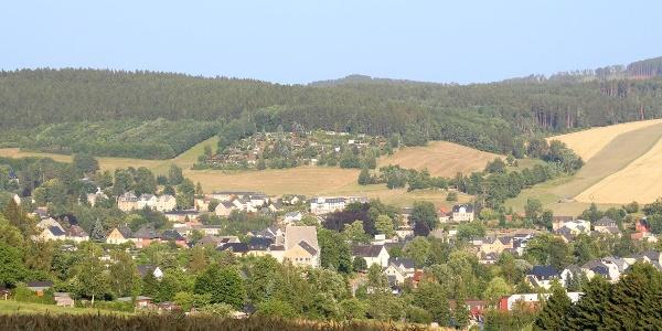 Ausblick über Thalheim von der Tabakstanne