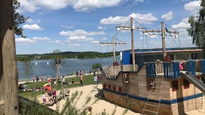 Spielplatz im Wassersportzentrum