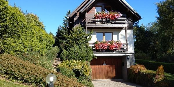 """Ferienhaus """"Keilbergblick"""", Westseite"""