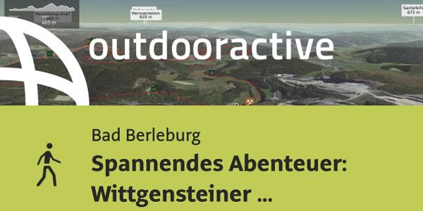 Hiking in Bad Berleburg: Wittgensteiner Schieferpfad (Wittgenstein slate trail) - An exciting Adventure
