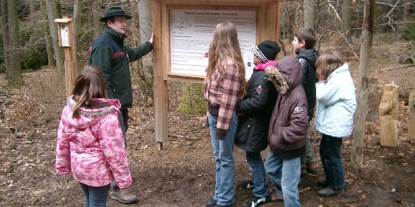 Führung auf dem Walddistelpfad