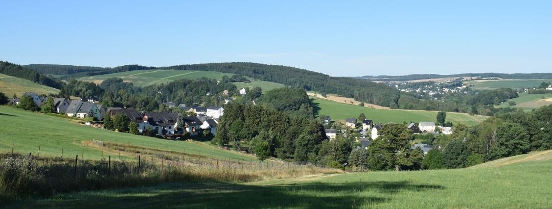 Ausblick auf Gornsdorf