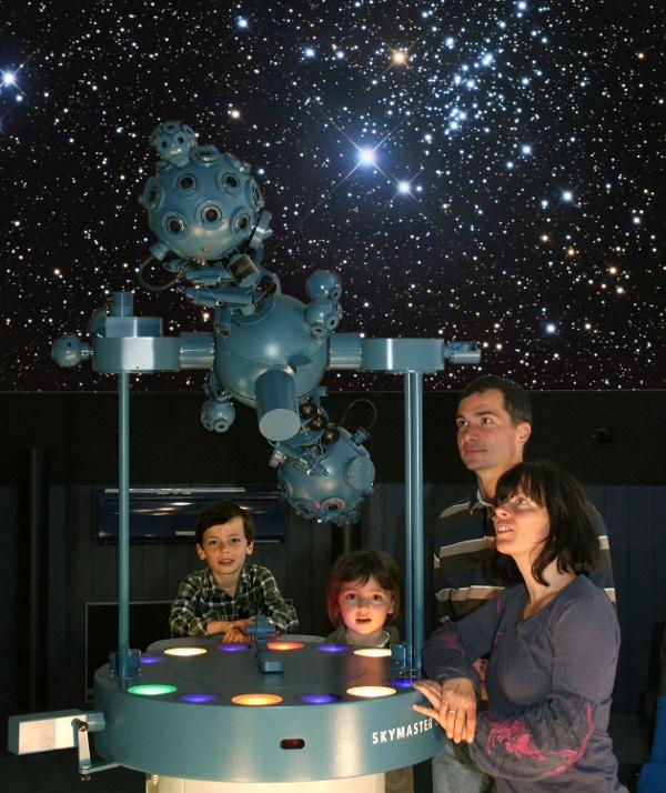 Planetárium Zeiss a lidová hvězdárna Drebach