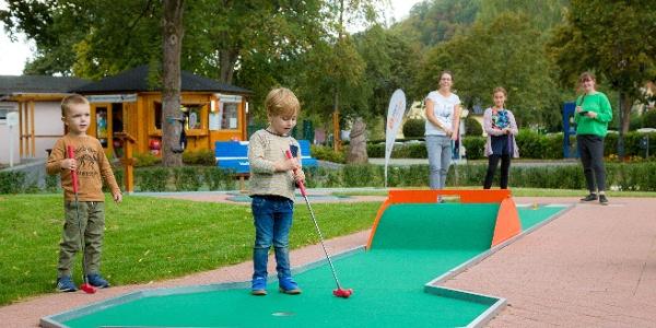 Minigolfanlage im Bad Lauterberger Kurpark