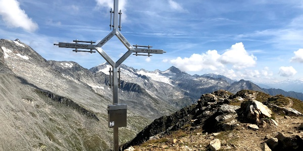 Gipfelkreuz Napfspitze