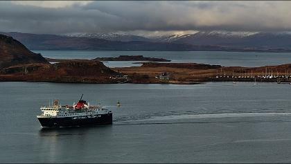 Isle of Mull at Oban