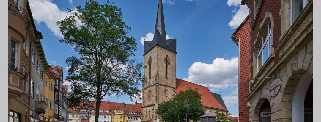 Die Ev. St. Servatius Kirche im Herzen Duderstadts.