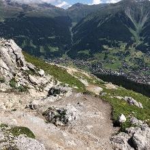 Oberhalb Schwarzseealp