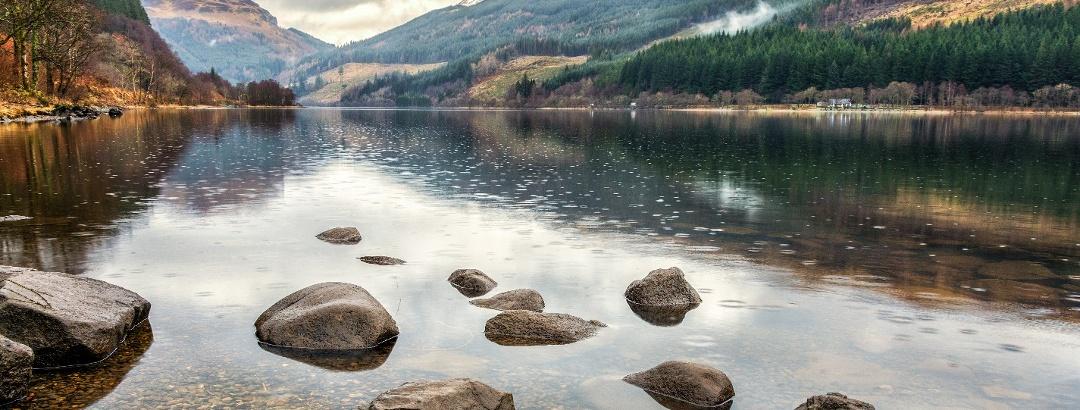 Loch Lubnaig, Stirlingshire, Scotland