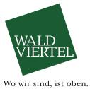 Logo Waldviertel Tourismus