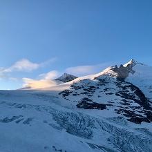 Einstieg Gletscher