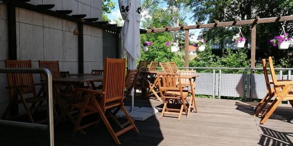 Terrasse Restaurant Vier Jahreszeiten