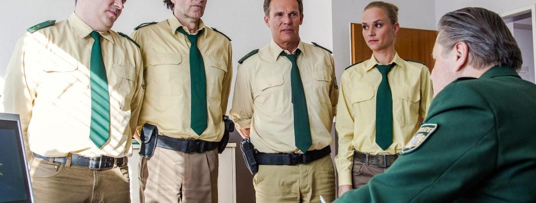 Das Polizei-Team von Hubert und Staller
