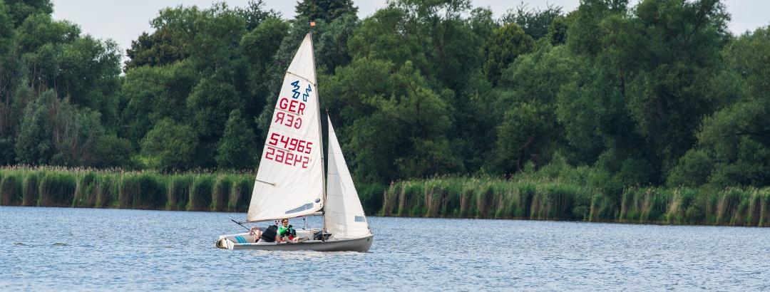 Segeln im Segelclub auf dem Seeburger See