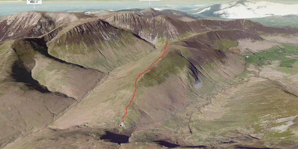 hike in Allerdale: Knott Rigg - there and back again