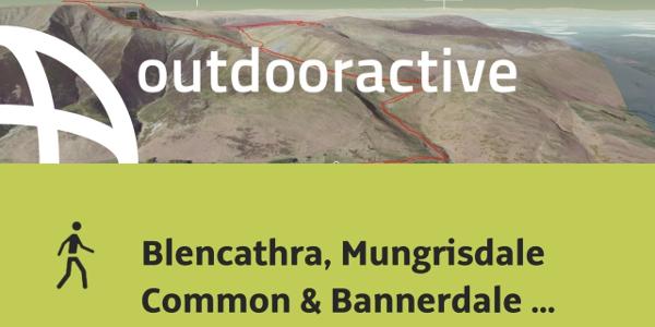 hike in Eden: Blencathra, Mungrisdale Common & Bannerdale Crags - Avoiding Sharp Edge
