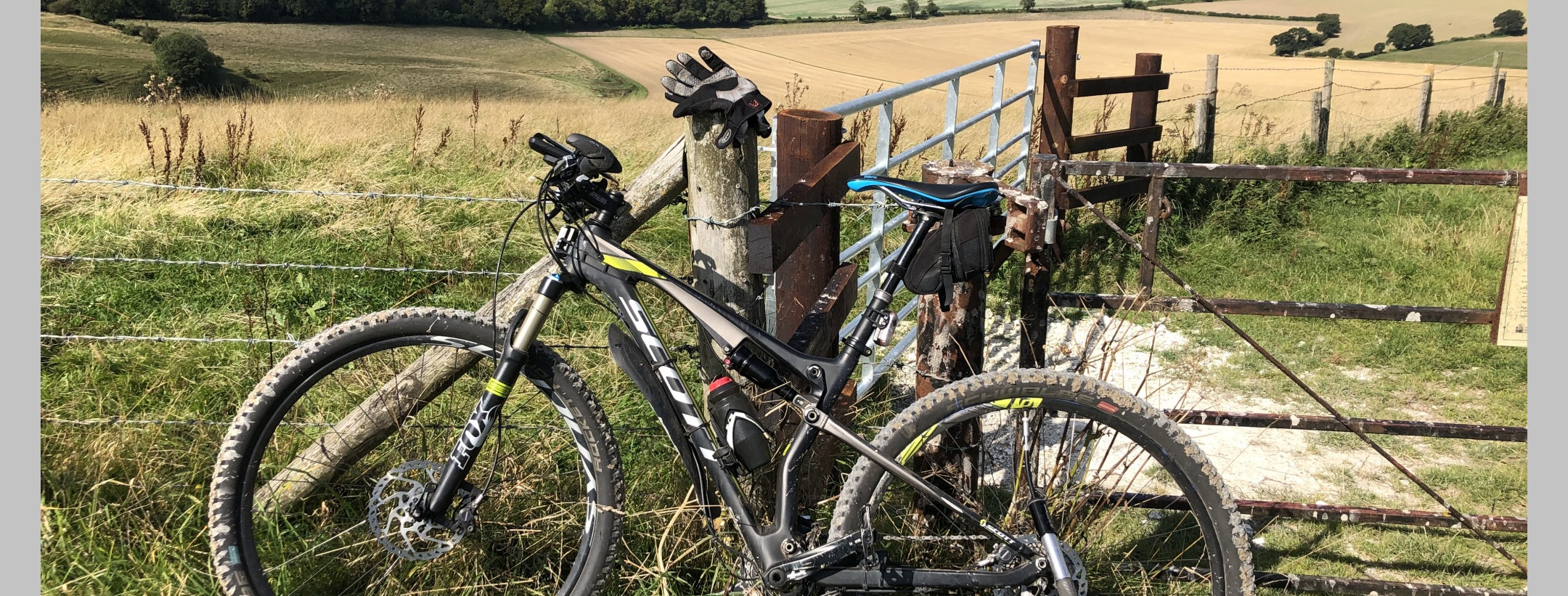Stranded on a desolate Knighton Down in Salisbury Plain