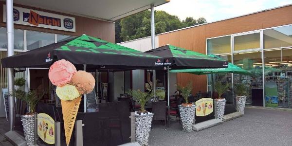 Café-Bistro s'Neichi, Aussenansicht