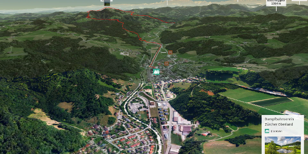 Wanderung in Zürich und Umgebung: Bauma-Hörnli-Steg