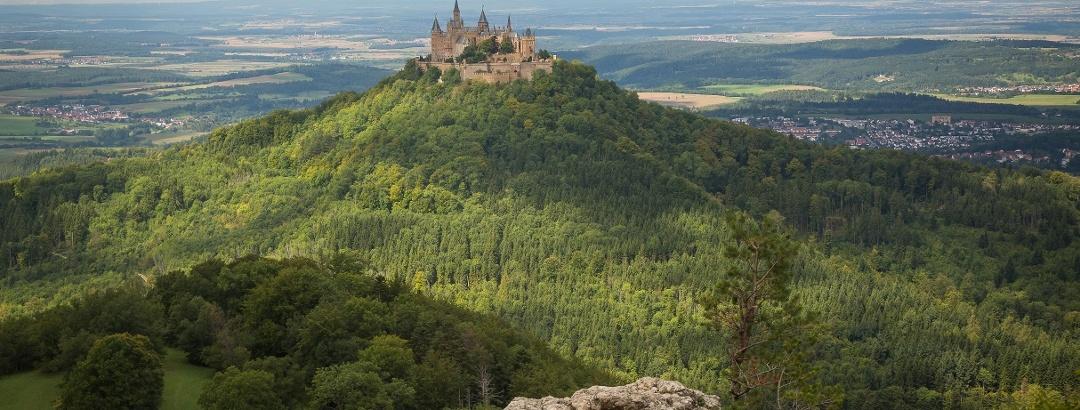 Burg Hohenzollern, Schwäbische Alb