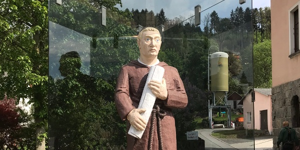 Mönch Jordan in Gornsdorf
