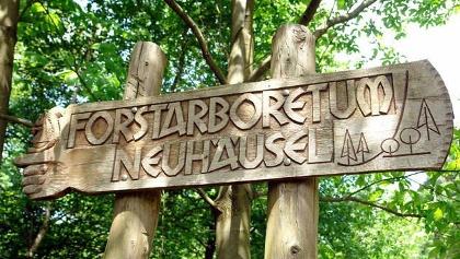 Eingang zum Arboretum