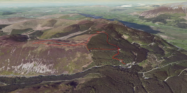 hike in Allerdale: Whinlatter Round Route