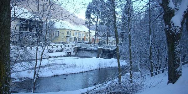 Winterkurpark und Wanderweg in Bad Lauterberg