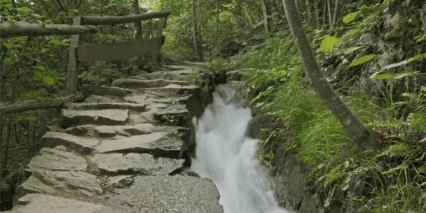 Sentiero delle rocce