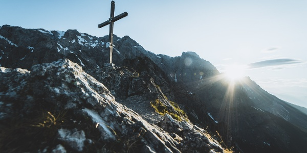 Taghaube Gipfelkreuz