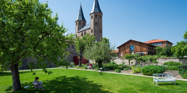 Kloster Drübeck - Ansicht Garten
