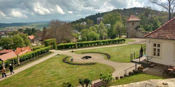 Klosterwanderweg - Berggarten Blankenburg
